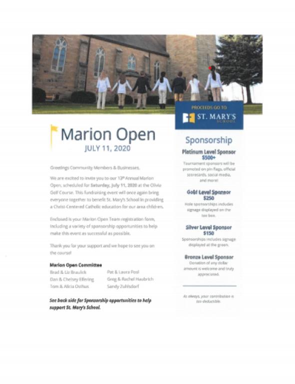 marion open