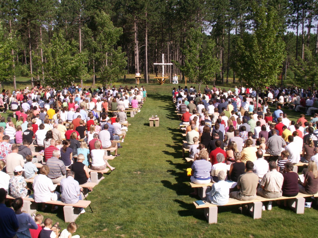 Mass in our Outdoor Cathedral