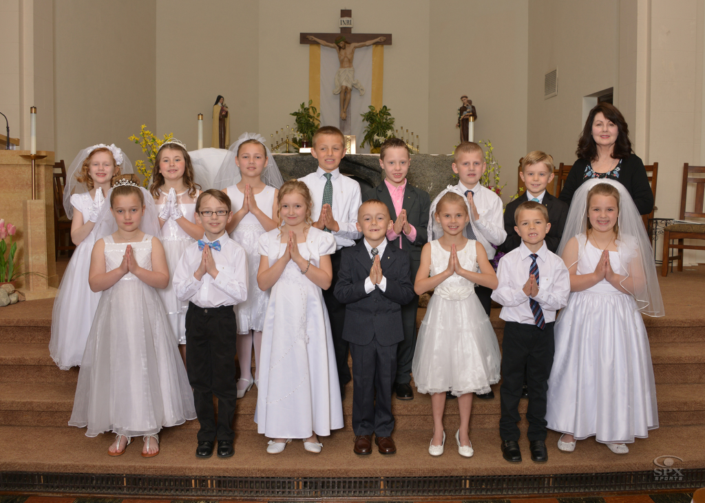 All Saints First Communion Class