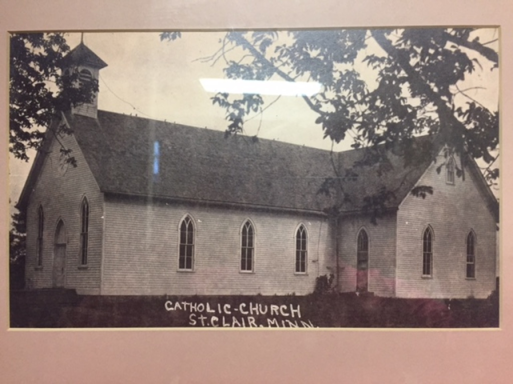 First Catholic Church in St. Clair