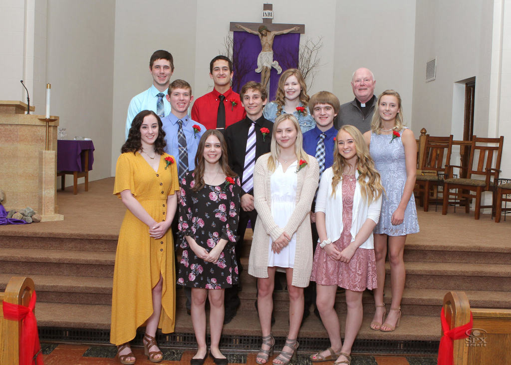 Confirmation students