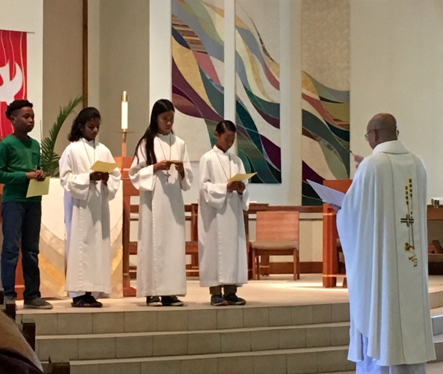 Altar Servers at St. Matthew Catholic Church