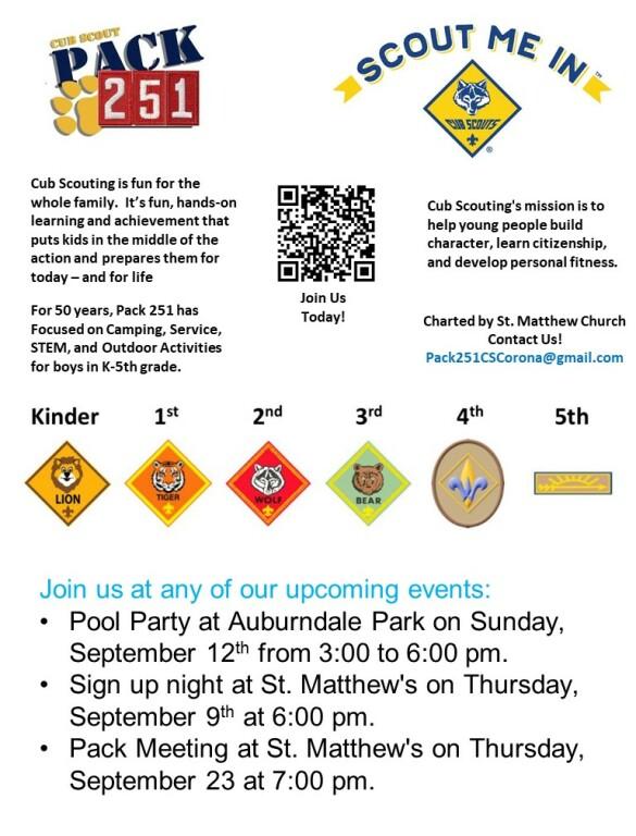 Cub Scout Pack 2021