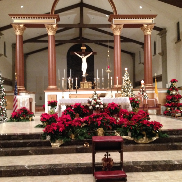 Preacher Wedding Altar: Immaculate Conception Catholic Parish