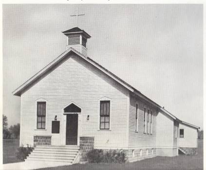Little White School Building purchased from Trinity Lutheran Parish, for $500, becomes St. Louis Communities first worship space.