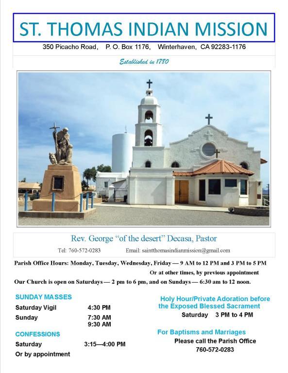Saint Thomas Indian Mission Church