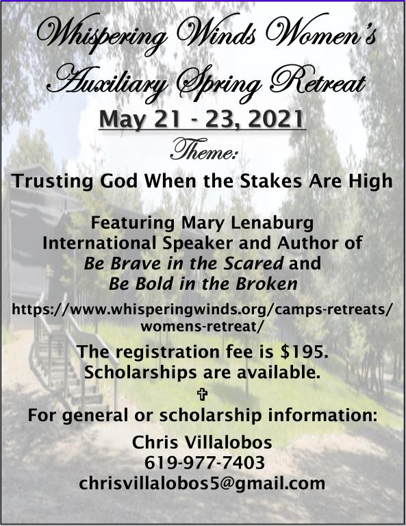 Whispering Women's Retreat