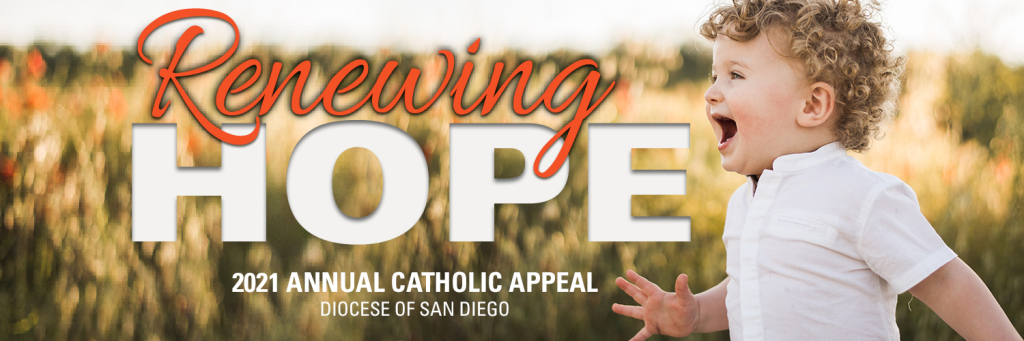 Renewing Hope, 2021 Annual Catholic Appeal