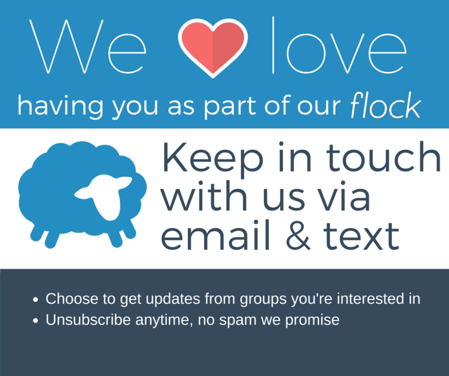 Click to Sign up for Flocknote