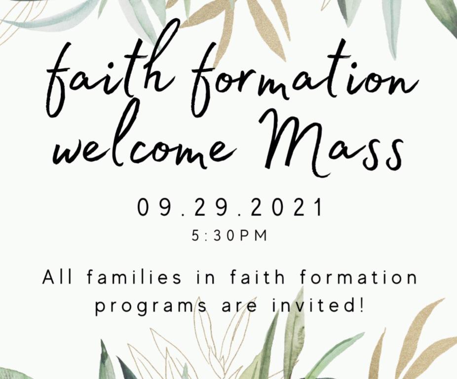 FF Welcome Mass, 9-29-21