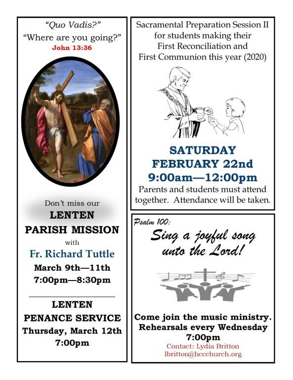 Faith Formation News