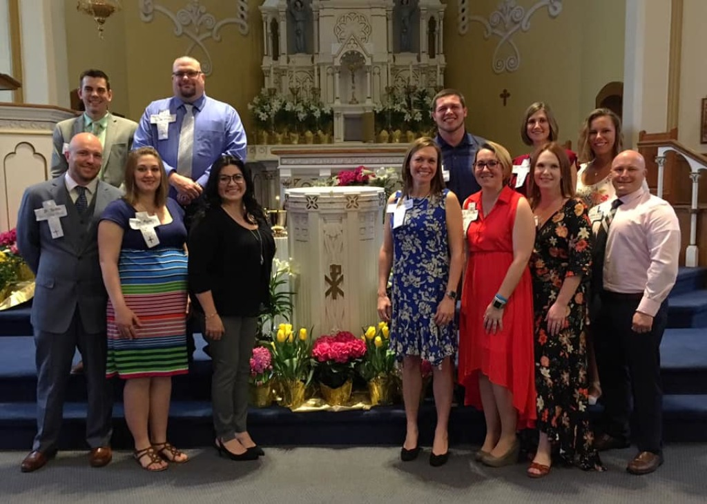 2019 RCIA Candidates at the Easter Vigil