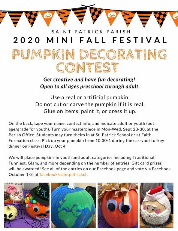 pumpkin contest flyer