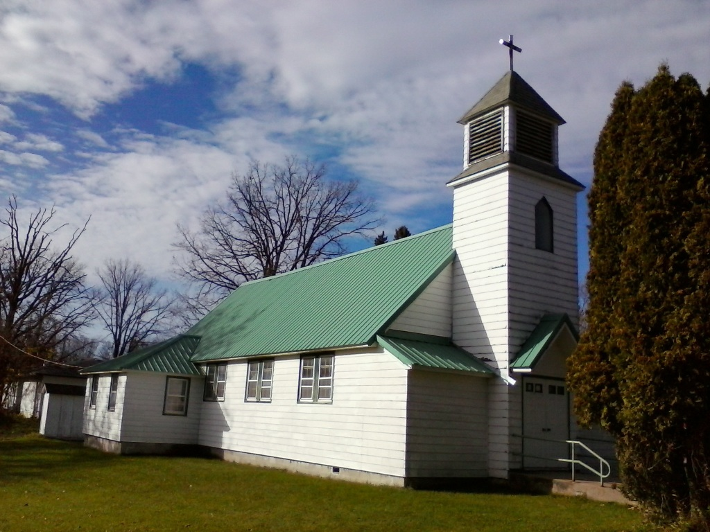 Former Sacred Heart Church Federal Dam