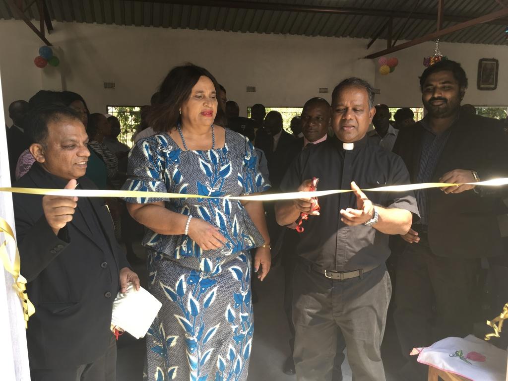 Zambia School opening