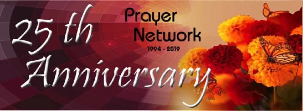 Prayer Network 2019 banner