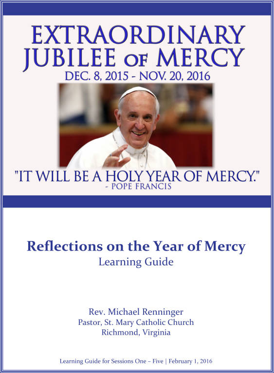 Videos - Reflections on the Year of Mercy | St  Mary