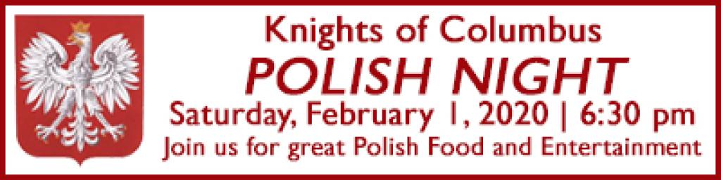 Polish Night Information