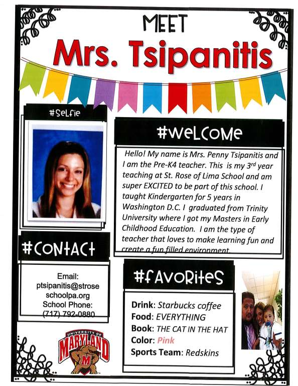 """Mrs. Tsipanitis (Mrs. """"T"""")"""