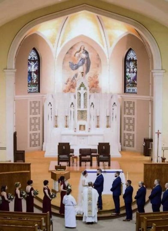 St. Mary the Immaculate Conception Wedding