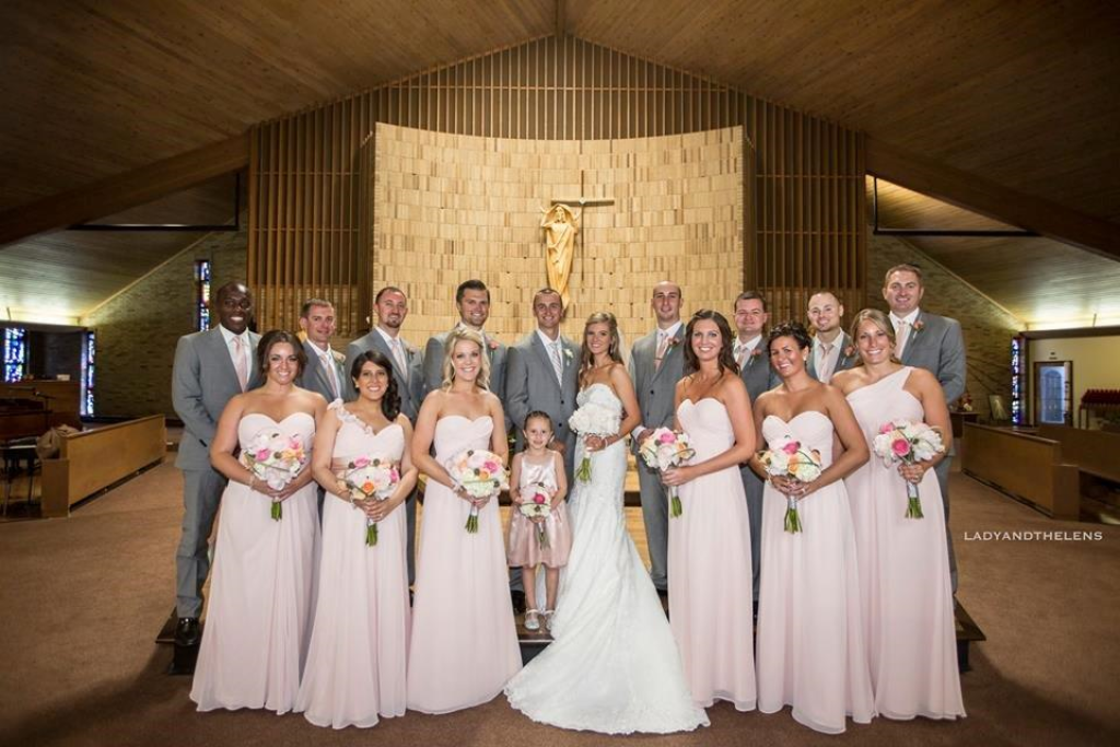 Queen of All Saints Wedding