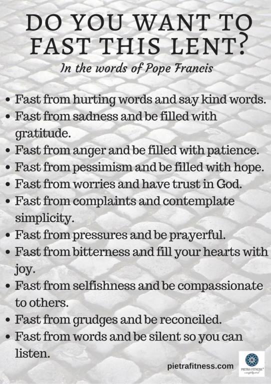 Lent Message