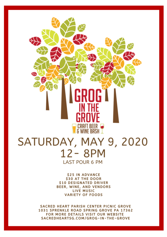 Grog in the Grove Advertisement