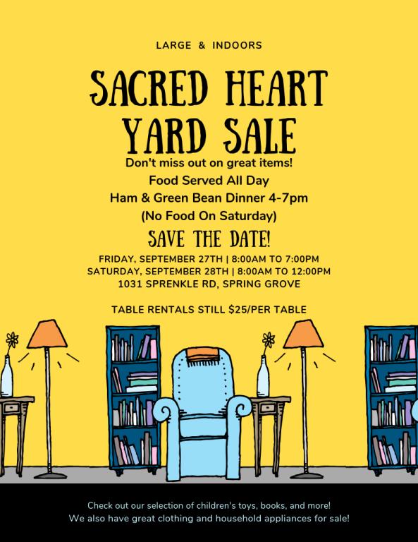 2019 Yard Sale