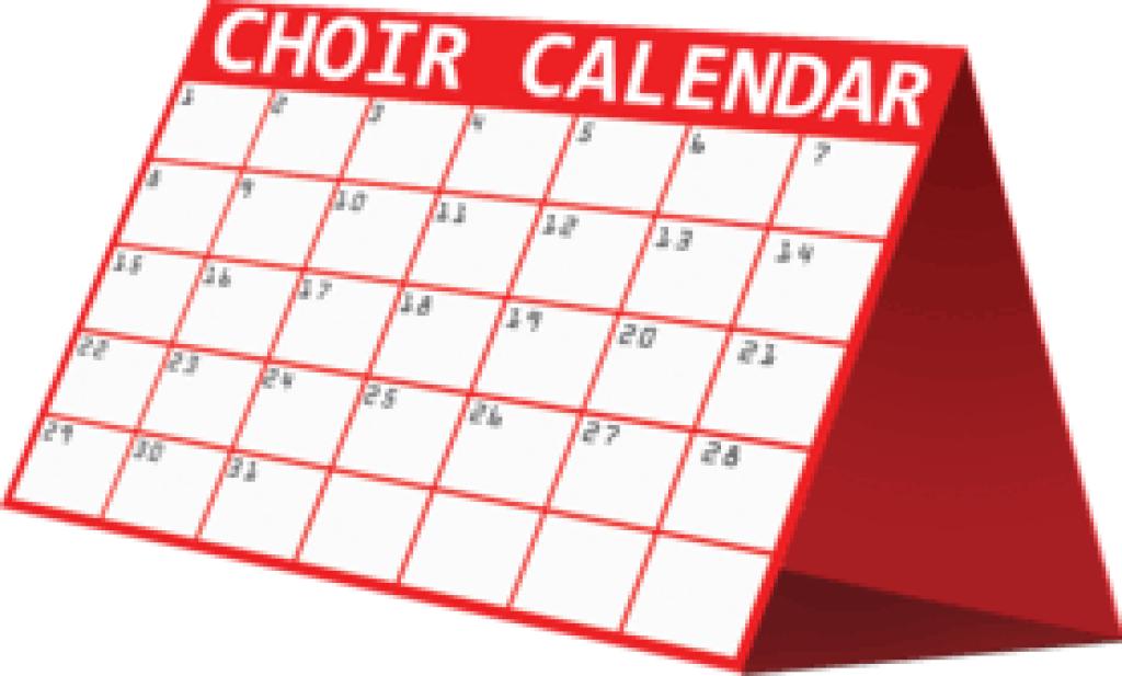 Choir Calendar