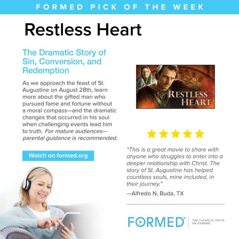 Formed Pick of the Week August 19-20