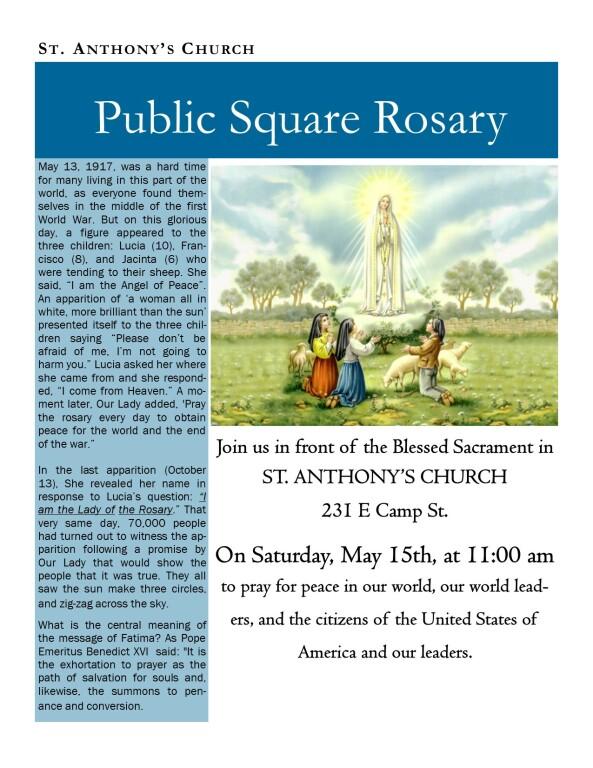 Public Square Rosary