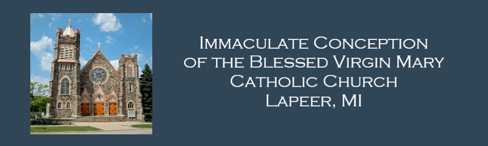 Immaculate Conception of the Blessed Virgin Mary Catholic Church