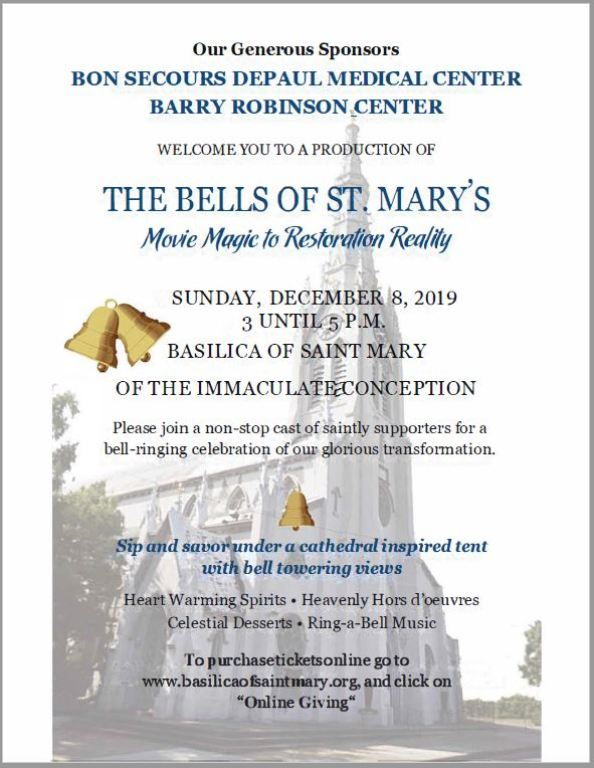 Bells of St. Mary - MAgic to Restoration Reality