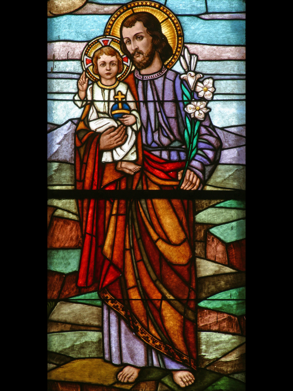 Saint Joseph with Christ Child