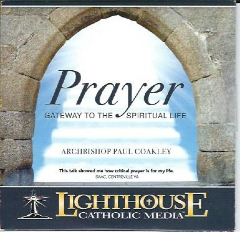 Prayer Gateway to the Spiritual Life CD cover