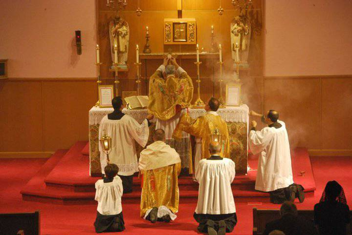 Latin mass massachusetts