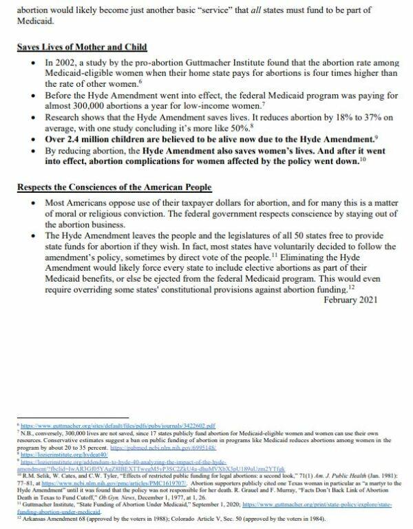 USCCB Hyde Amendment 1