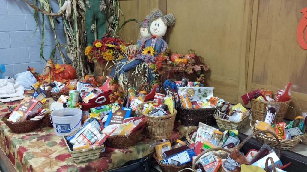 Our raffle baskets are sure to please!