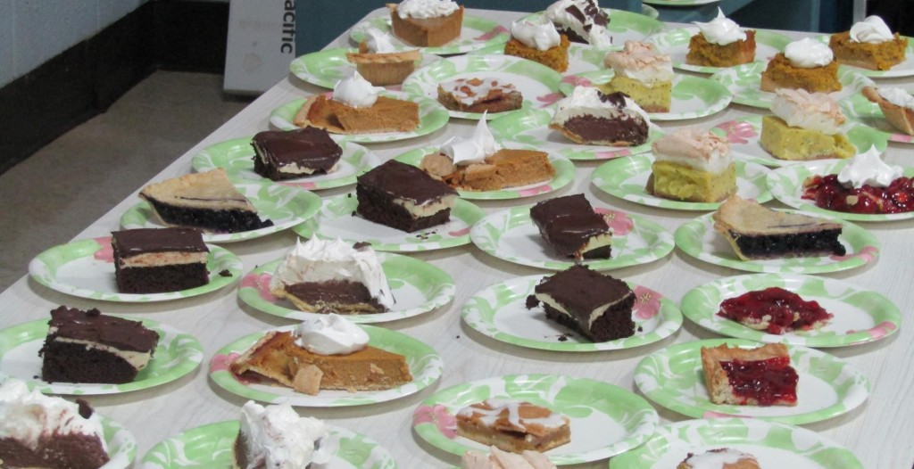 There are plenty of desserts to go around!