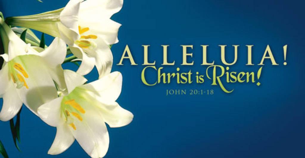 Alleluia Happy Easter