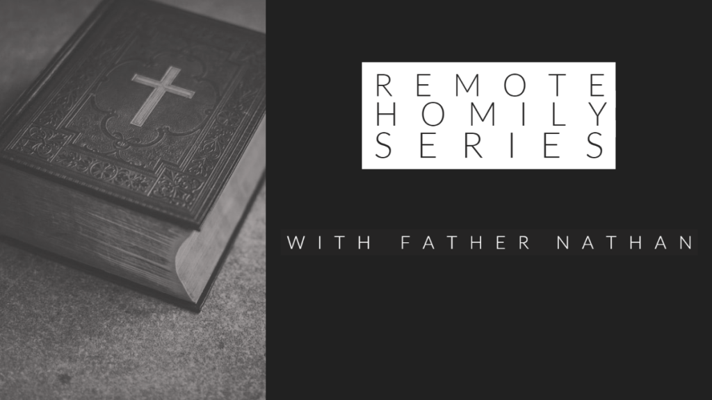 Remote Homily Series