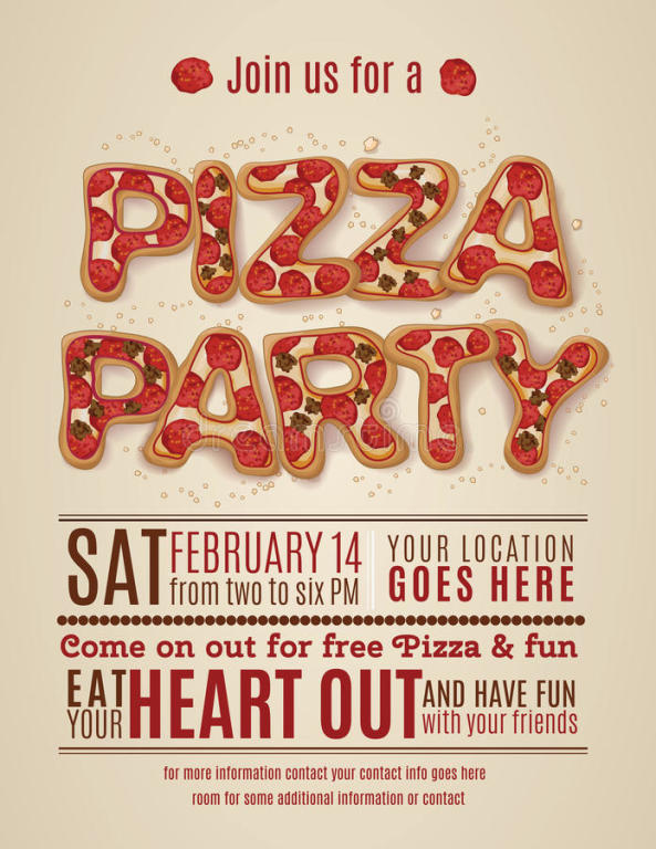 Youth Ministry Pizza Party