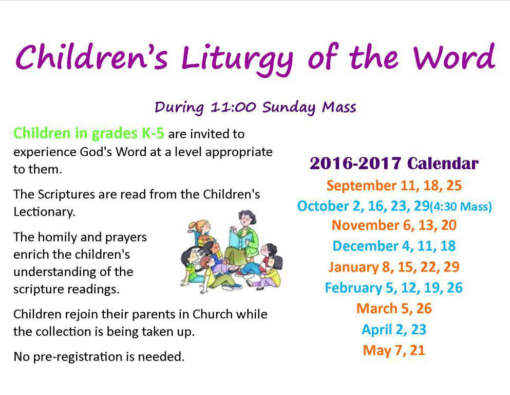 Childrens Liturgy of the Word