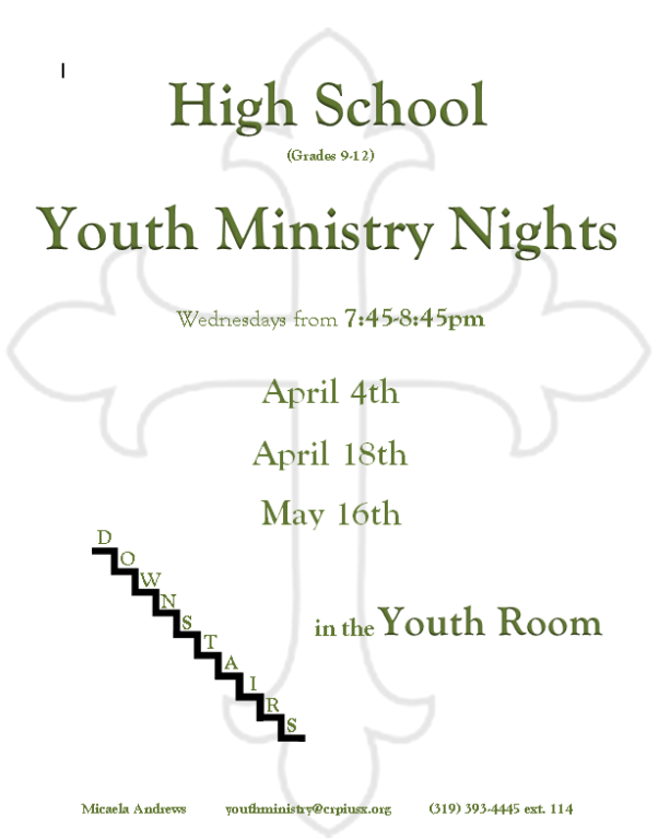High School Youth Ministry