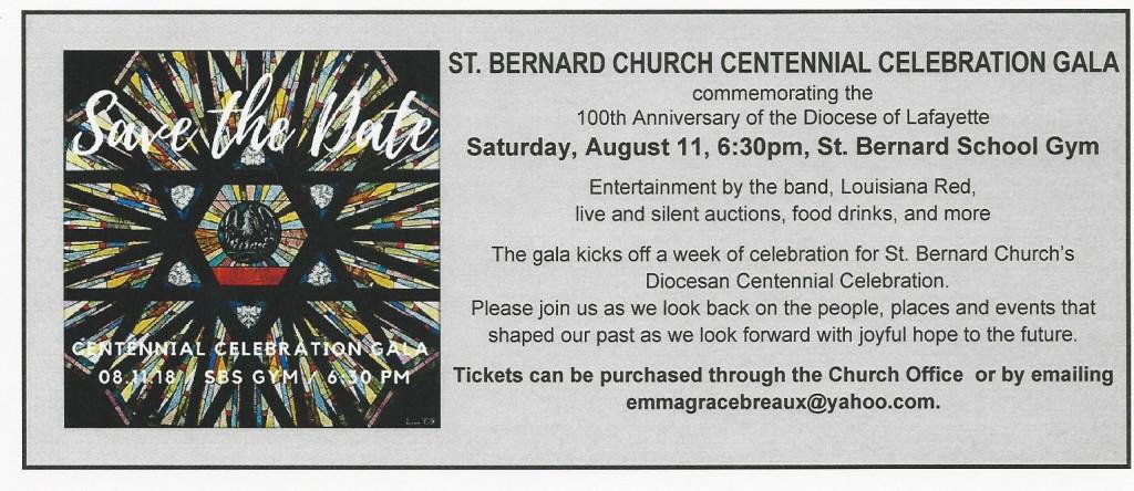 Centennial Celebration Gala