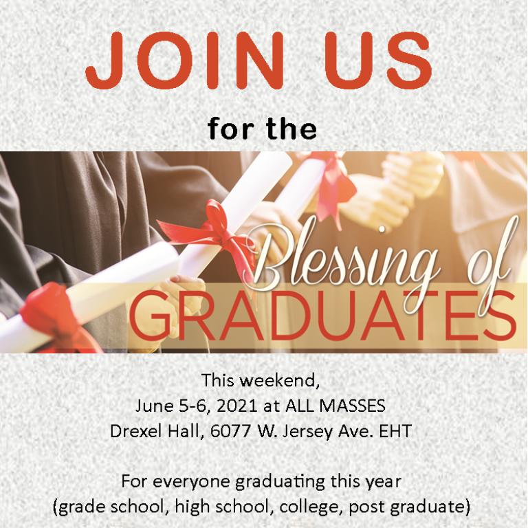 Graduates' Blessing 2021