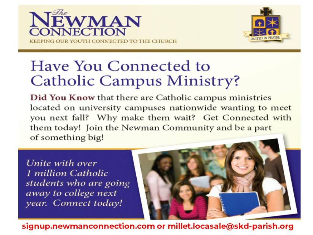 Newman Connection Invitation