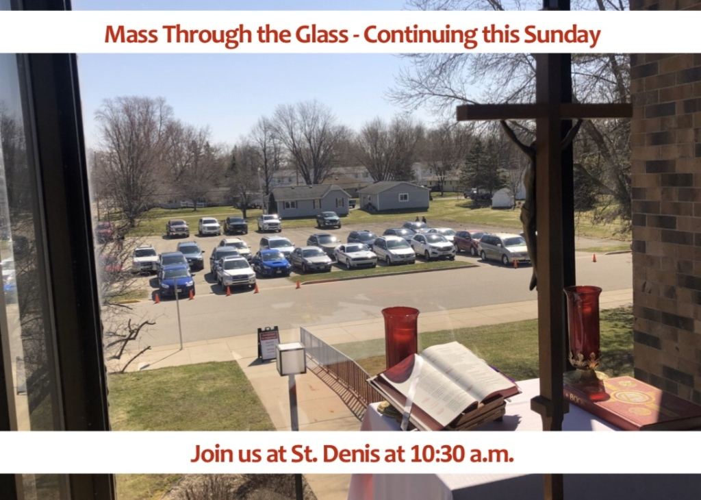 mass through the glass