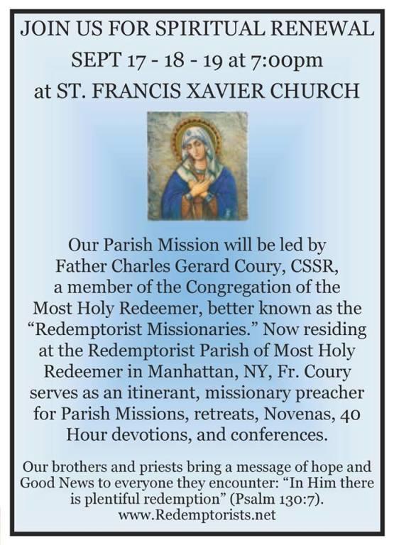 2018 Parish Mission