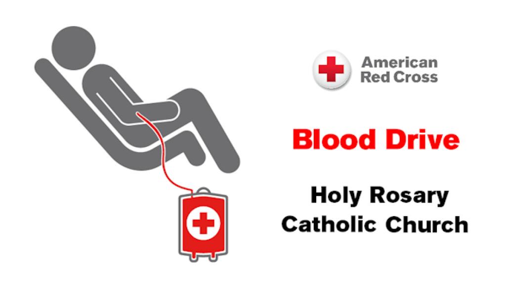 Blood Drives at Holy Rosary Catholic Church